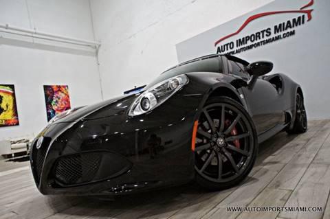 2018 Alfa Romeo 4C for sale in Fort Lauderdale, FL