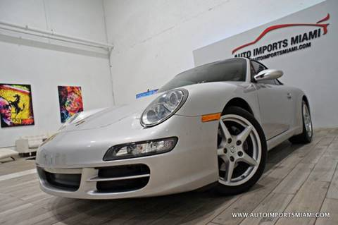 2007 Porsche 911 for sale in Fort Lauderdale, FL