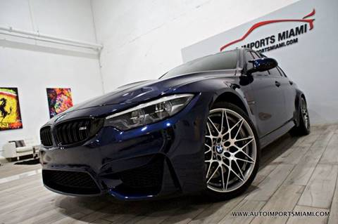 Fort Lauderdale Bmw >> 2018 Bmw M3 For Sale In Fort Lauderdale Fl