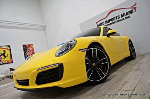 2017 Porsche 911 for sale in Fort Lauderdale, FL