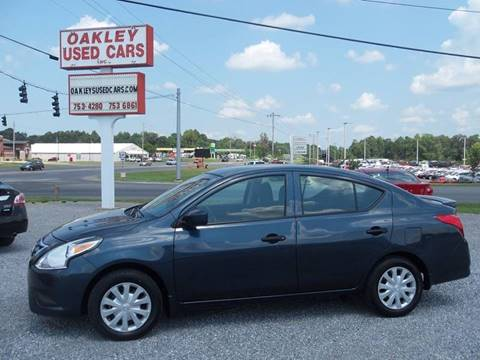 2016 Nissan Versa for sale in Murray, KY