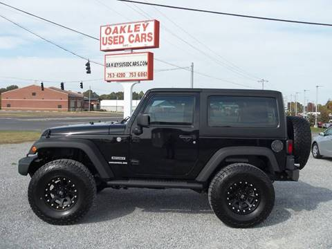 2012 Jeep Wrangler for sale in Murray, KY