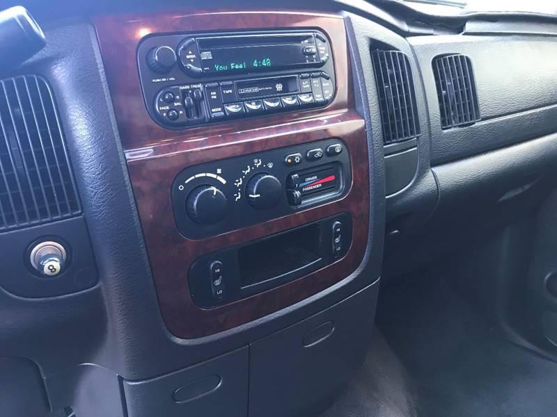 2003 Dodge Ram Pickup 1500 4dr Laramie Quad Cab SB RWD - Glendora CA