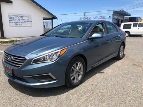 2016 Hyundai Sonata for sale at All Cars & Trucks in North Highlands CA