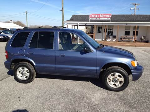 2002 Kia Sportage for sale at TAVERN MOTORS in Laurens SC