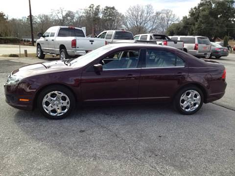 2011 Ford Fusion for sale at TAVERN MOTORS in Laurens SC