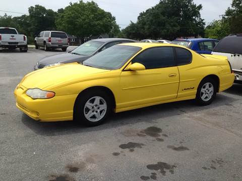 2002 Chevrolet Monte Carlo for sale at TAVERN MOTORS in Laurens SC