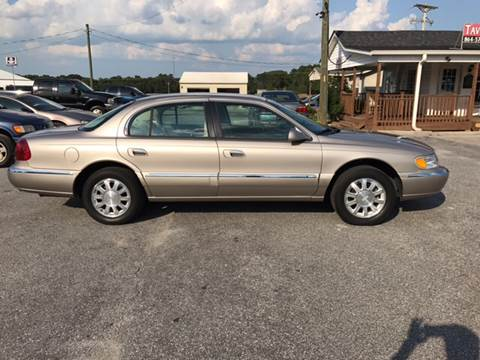 2000 Lincoln Continental for sale at TAVERN MOTORS in Laurens SC
