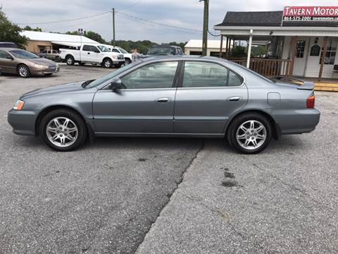 2000 Acura TL for sale at TAVERN MOTORS in Laurens SC