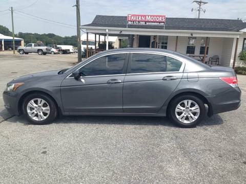 2009 Honda Accord for sale at TAVERN MOTORS in Laurens SC