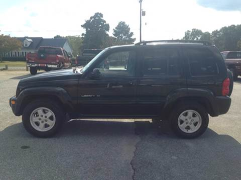 2003 Jeep Liberty for sale at TAVERN MOTORS in Laurens SC