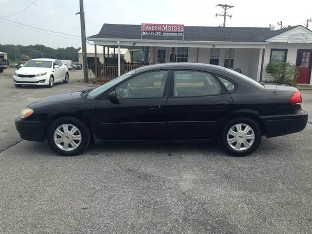 2005 ford taurus sel 4dr sedan in laurens sc tavern motors. Black Bedroom Furniture Sets. Home Design Ideas