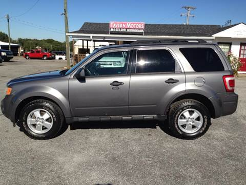 2009 Ford Escape for sale at TAVERN MOTORS in Laurens SC