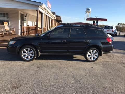 2008 Subaru Outback for sale at TAVERN MOTORS in Laurens SC
