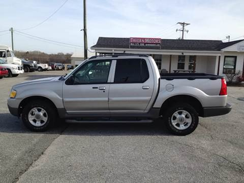 2003 Ford Explorer Sport Trac for sale at TAVERN MOTORS in Laurens SC