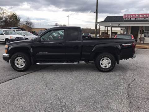 2004 GMC Canyon for sale at TAVERN MOTORS in Laurens SC