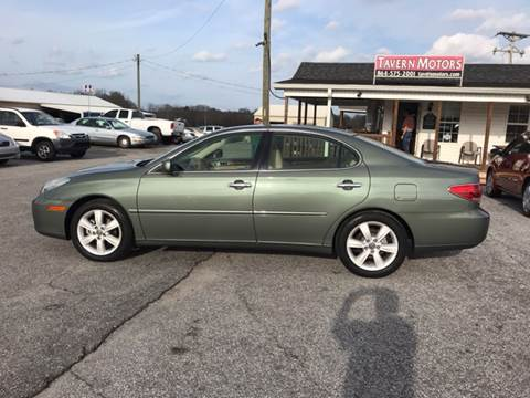 2006 Lexus ES 330 for sale at TAVERN MOTORS in Laurens SC