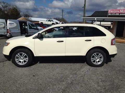 2007 Ford Edge for sale at TAVERN MOTORS in Laurens SC