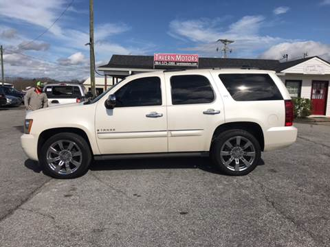 2008 Chevrolet Tahoe for sale at TAVERN MOTORS in Laurens SC