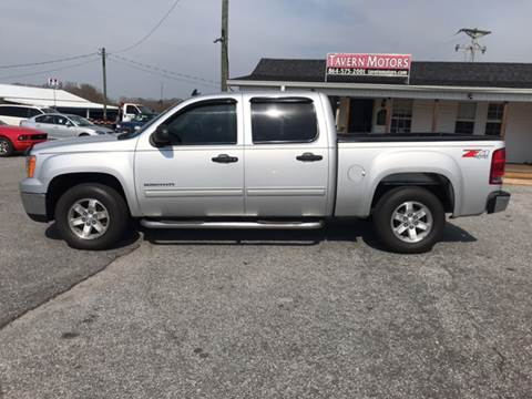 2012 GMC Sierra 1500 for sale at TAVERN MOTORS in Laurens SC