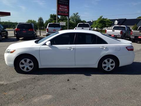2008 Toyota Camry for sale at TAVERN MOTORS in Laurens SC