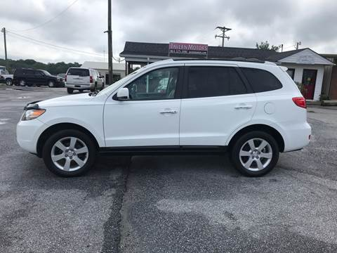 2007 Hyundai Santa Fe for sale at TAVERN MOTORS in Laurens SC