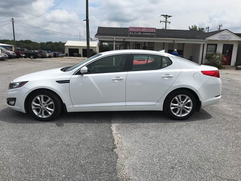 2012 Kia Optima for sale at TAVERN MOTORS in Laurens SC