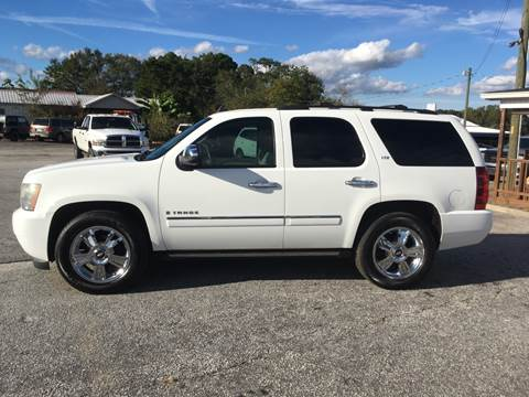 2009 Chevrolet Tahoe for sale at TAVERN MOTORS in Laurens SC