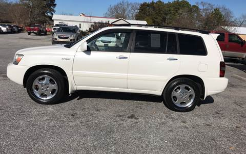 2007 Toyota Highlander for sale at TAVERN MOTORS in Laurens SC