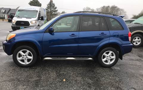 2003 Toyota RAV4 for sale at TAVERN MOTORS in Laurens SC