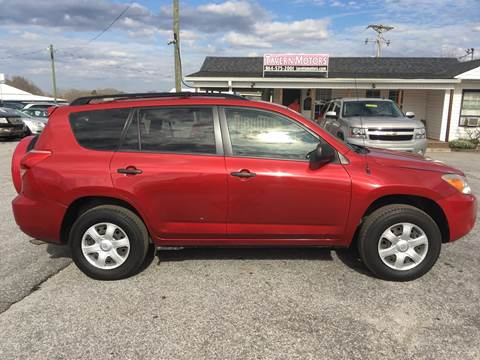2007 Toyota RAV4 for sale at TAVERN MOTORS in Laurens SC