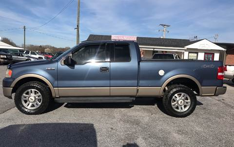 2004 Ford F-150 for sale at TAVERN MOTORS in Laurens SC