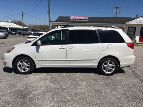 2005 Toyota Sienna for sale at TAVERN MOTORS in Laurens SC
