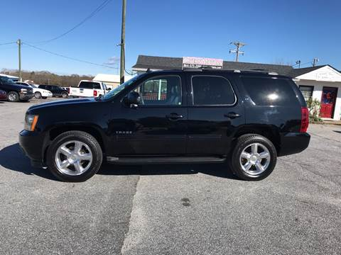 2011 Chevrolet Tahoe for sale at TAVERN MOTORS in Laurens SC