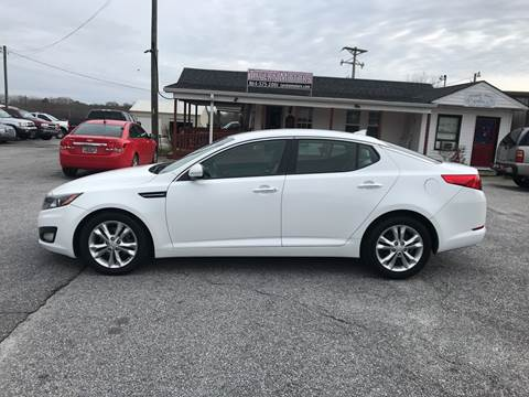 2013 Kia Optima for sale at TAVERN MOTORS in Laurens SC