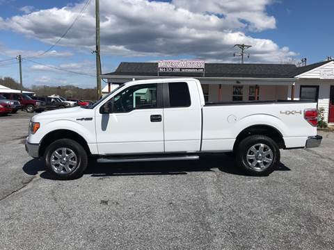 2012 Ford F-150 for sale at TAVERN MOTORS in Laurens SC
