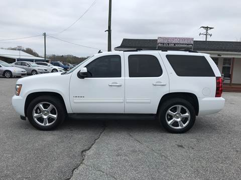 2012 Chevrolet Tahoe for sale at TAVERN MOTORS in Laurens SC