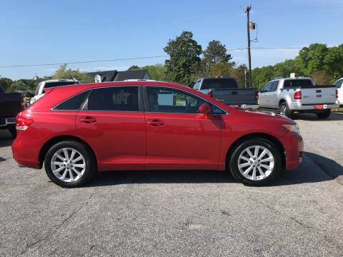 2009 Toyota Venza for sale at TAVERN MOTORS in Laurens SC