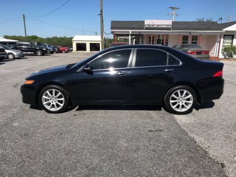 2007 Acura TSX for sale at TAVERN MOTORS in Laurens SC