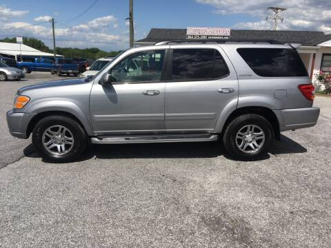 2001 Toyota Sequoia for sale at TAVERN MOTORS in Laurens SC