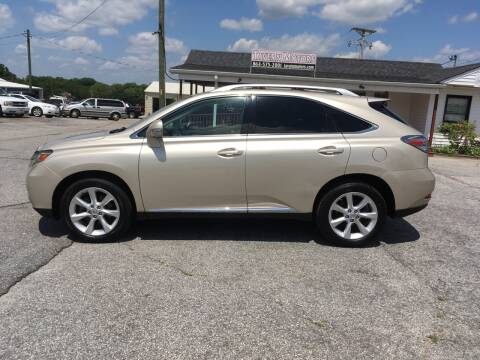 2011 Lexus RX 350 for sale at TAVERN MOTORS in Laurens SC