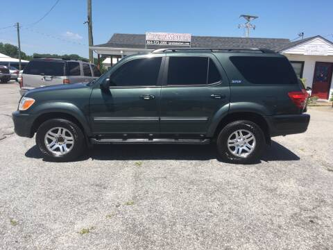2006 Toyota Sequoia for sale at TAVERN MOTORS in Laurens SC