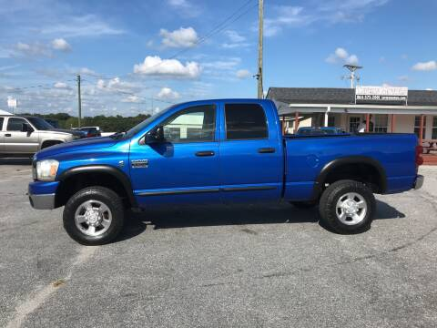 2007 Dodge Ram Pickup 3500 for sale at TAVERN MOTORS in Laurens SC