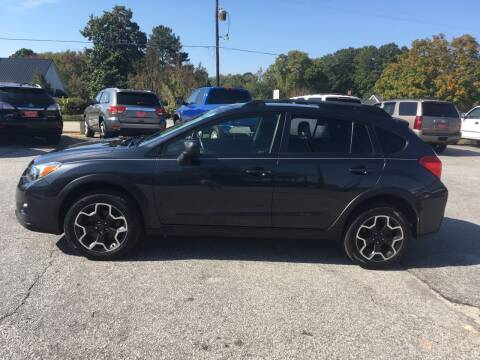 2013 Subaru XV Crosstrek for sale at TAVERN MOTORS in Laurens SC