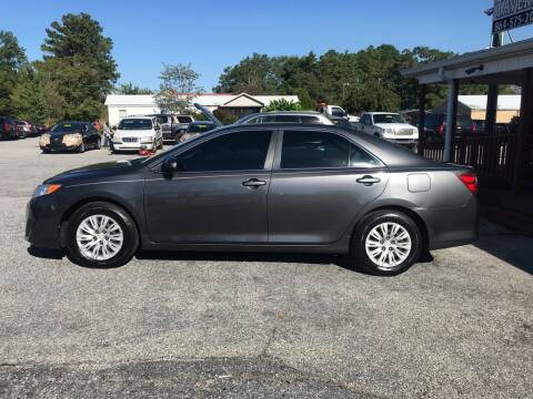 2012 Toyota Camry for sale at TAVERN MOTORS in Laurens SC