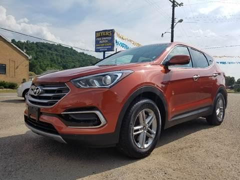 2017 Hyundai Santa Fe Sport for sale in Paden City, WV