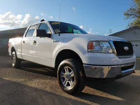 2007 Ford F-150 for sale at MYERS PRE OWNED AUTOS & POWERSPORTS in Paden City WV