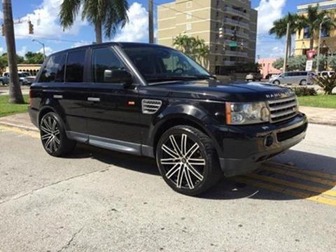 2008 Land Rover Range Rover Sport for sale in Miami, FL