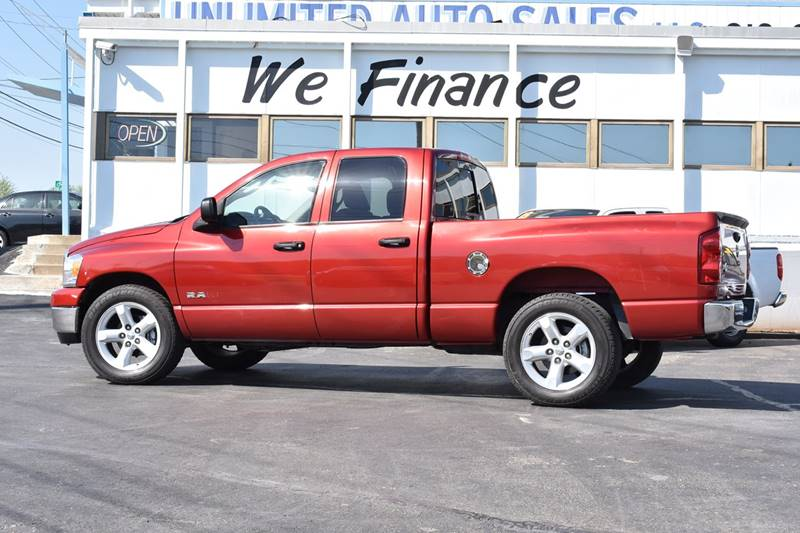 2008 Dodge Ram Pickup 1500 SLT 4dr Quad Cab SB RWD - Kansas City MO