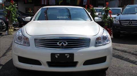 2007 Infiniti G35 for sale at TJ AUTO in Brooklyn NY